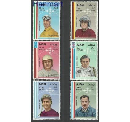 Znaczek Ajman / Adżman 1969 Mi 369-374 Czyste **