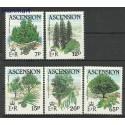 Wyspa Wniebowstąpienia 1985 Mi 372-376 Czyste **