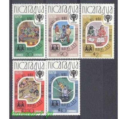 Znaczek Nikaragua 1980 Mi 2080-2084b Czyste **