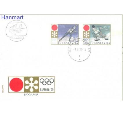 Znaczek Jugosławia 1972 Mi 1447-1448 FDC