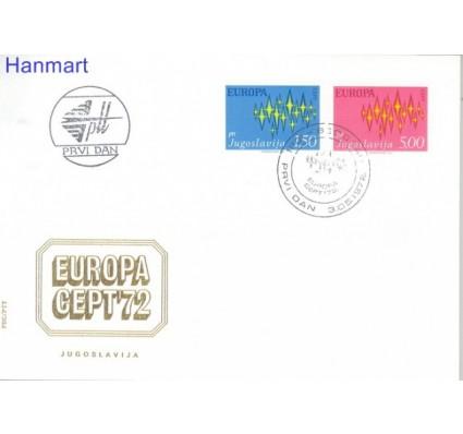 Znaczek Jugosławia 1972 Mi 1457-1458 FDC