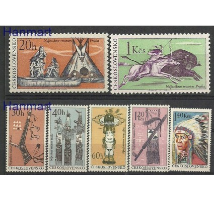 Znaczek Czechosłowacja 1966 Mi 1629-1635 Czyste **