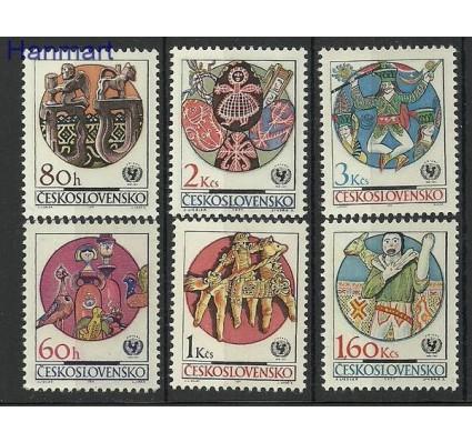 Znaczek Czechosłowacja 1971 Mi 2039a-2044 Czyste **