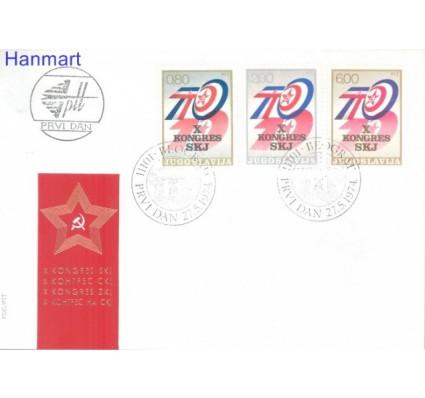 Znaczek Jugosławia 1974 Mi 1562-1564 FDC