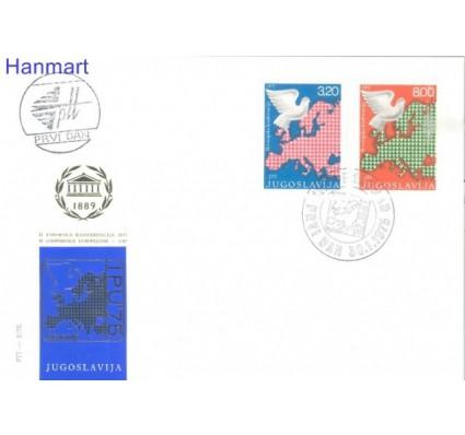 Znaczek Jugosławia 1975 Mi 1585-1586 FDC