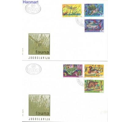 Znaczek Jugosławia 1976 Mi 1640-1645 FDC