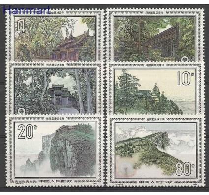Znaczek Chiny 1984 Mi 1978-1983 Czyste **