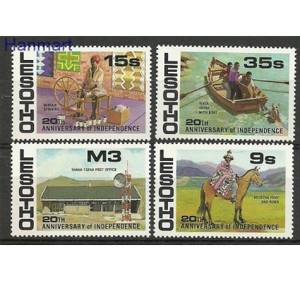 Znaczek Lesotho 1986 Mi 608-611 Czyste **