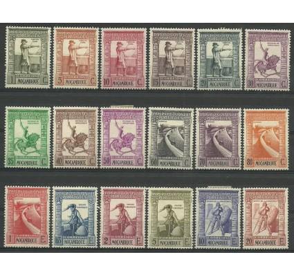 Znaczek Mozambik 1938 Mi 297-314 Z podlepką *