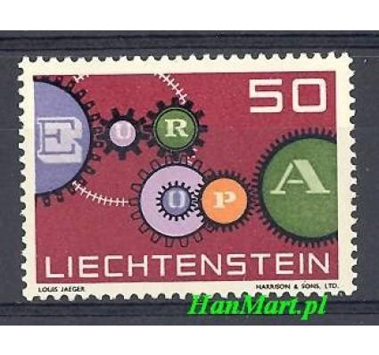 Znaczek Liechtenstein 1961 Mi 414 Czyste **