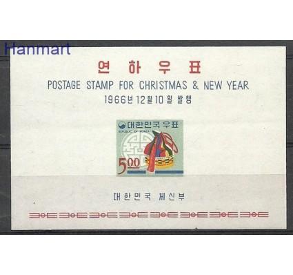 Znaczek Korea Południowa 1966 Mi bl 241 Czyste **