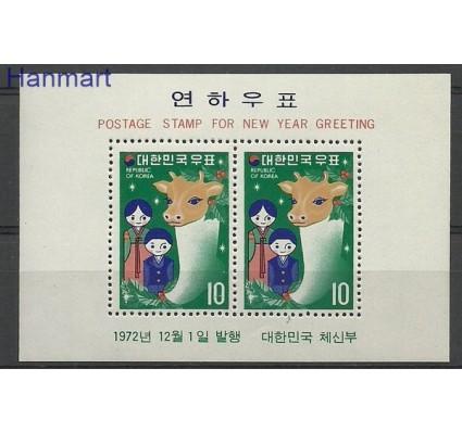 Znaczek Korea Południowa 1972 Mi bl 357 Czyste **
