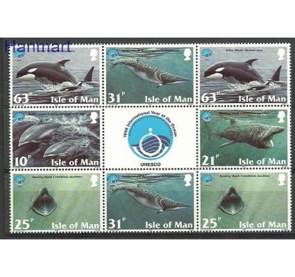 Znaczek Wyspa Man 1998 Mi 758-762 Czyste **