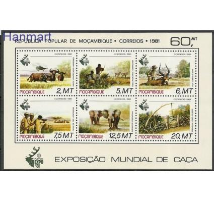 Znaczek Mozambik 1981 Mi bl 11 Czyste **