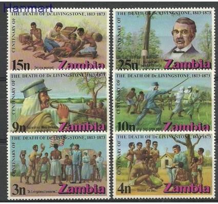 Znaczek Zambia 1973 Mi 102-107 Czyste **