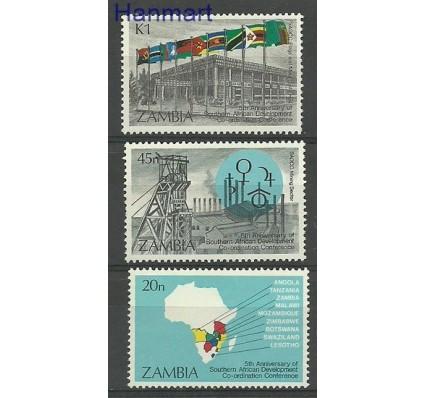 Znaczek Zambia 1985 Mi 334-336 Czyste **