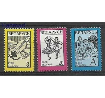 Znaczek Białoruś 2000 Mi 360-362I Czyste **