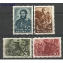 Węgry 1944 Mi 745-748 Czyste **