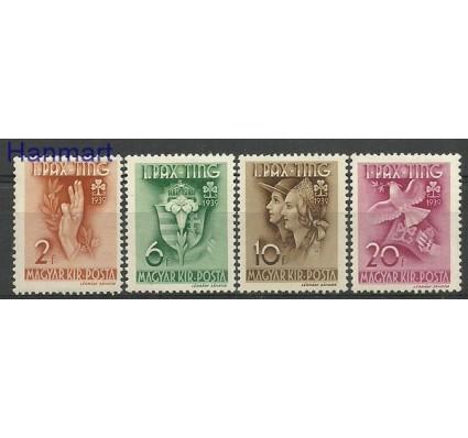 Znaczek Węgry 1939 Mi 612-615 Z podlepką *