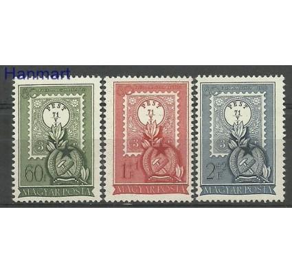 Znaczek Węgry 1951 Mi 1201-1203 Z podlepką *