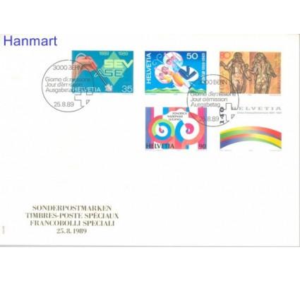 Znaczek Szwajcaria 1989 Mi 1397-1401 FDC