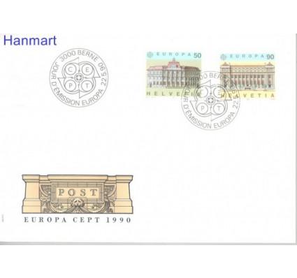 Znaczek Szwajcaria 1990 Mi 1415-1416 FDC