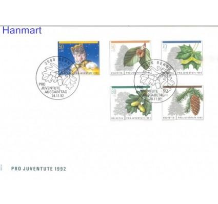 Znaczek Szwajcaria 1992 Mi 1483-1487 FDC
