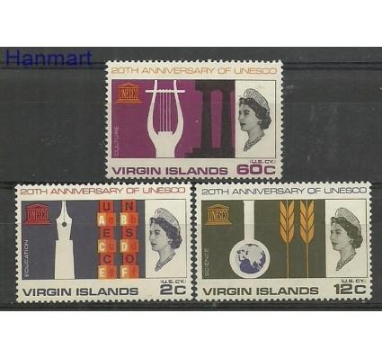 Znaczek Wyspy Dziewicze 1966 Mi 172-174 Czyste **