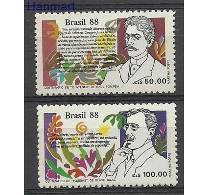 Znaczek Brazylia 1988 Mi 2269-2270 Czyste **