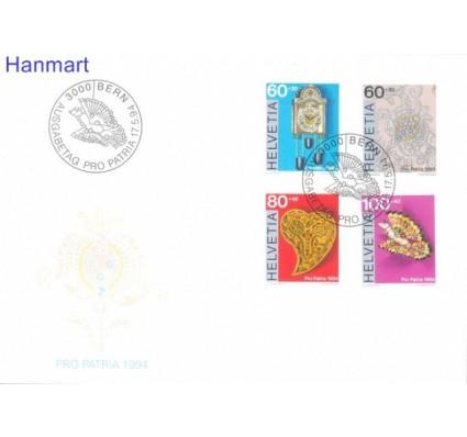 Znaczek Szwajcaria 1994 Mi 1527-1530 FDC
