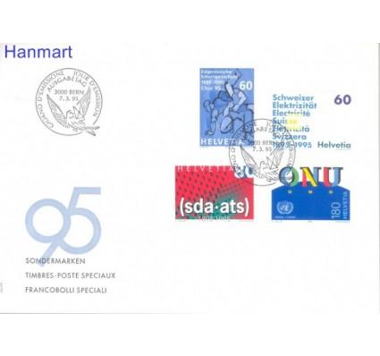 Znaczek Szwajcaria 1995 Mi 1540-1543 FDC