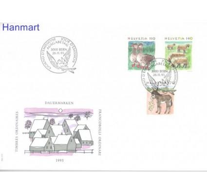 Znaczek Szwajcaria 1995 Mi 1564-1566 FDC