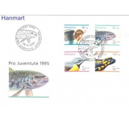 Znaczek Szwajcaria 1995 Mi 1567-1570 FDC