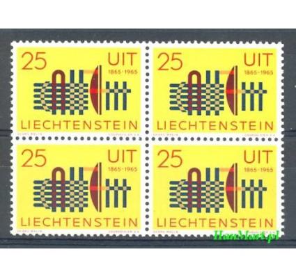 Znaczek Liechtenstein 1965 Mi 458 Czyste **