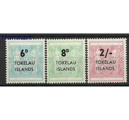 Znaczek Tokelau 1966 Mi 1-3 Czyste **