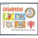 Uganda 1979 Mi bl 16 Czyste **