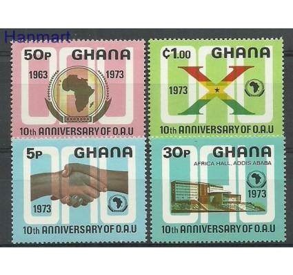 Ghana 1973 Mi 516-519 Czyste **