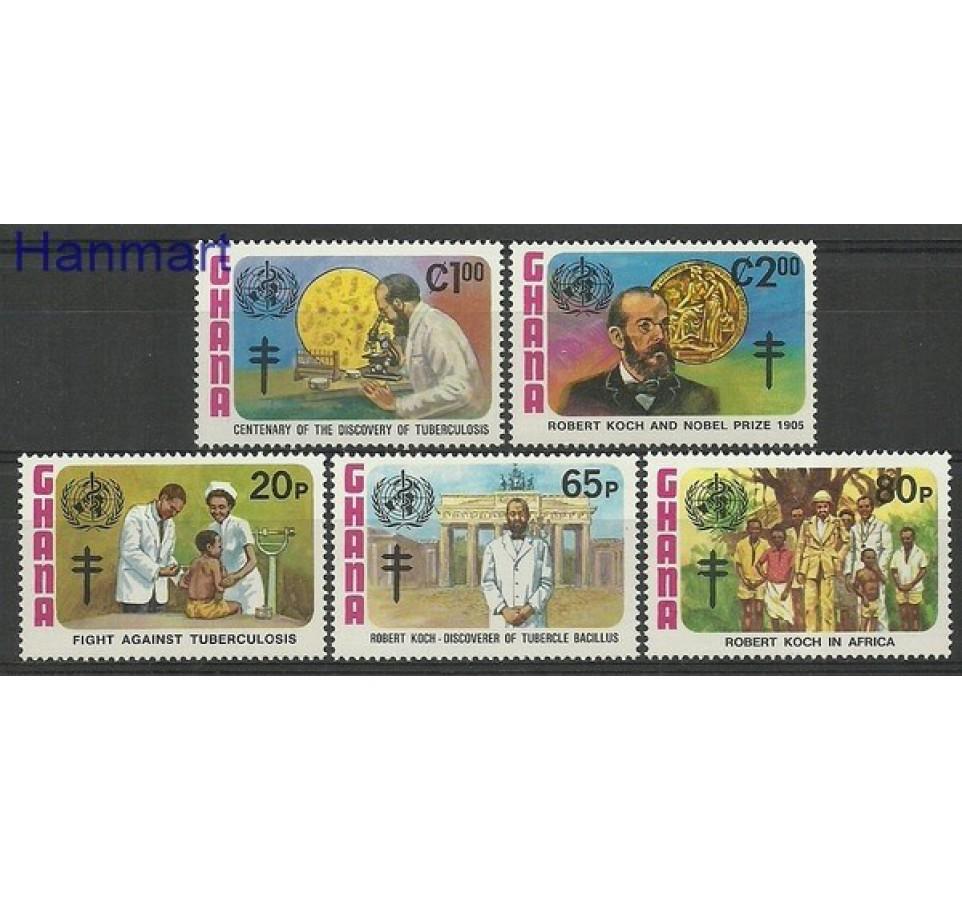 Ghana 1982 Mi 954-958 Czyste **