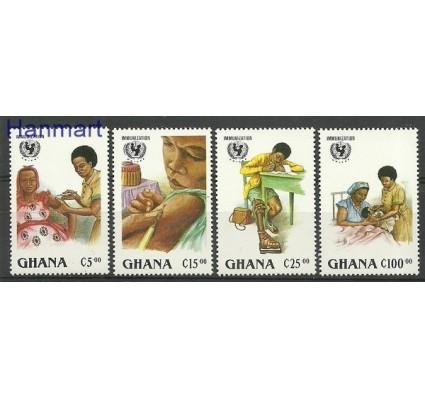 Znaczek Ghana 1988 Mi 1182-1185 Czyste **