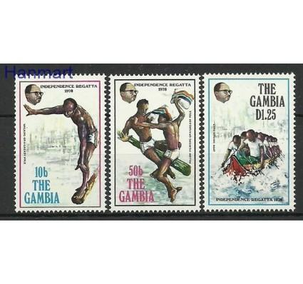 Znaczek Gambia 1978 Mi 368-370 Czyste **