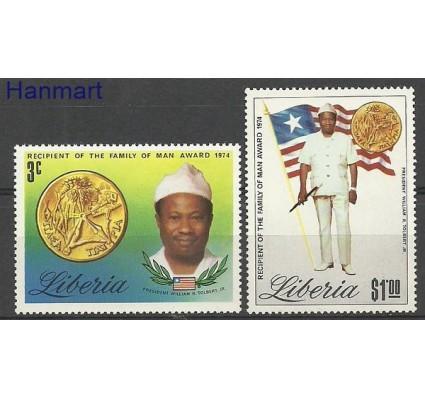 Znaczek Liberia 1974 Mi 937-938 Czyste **