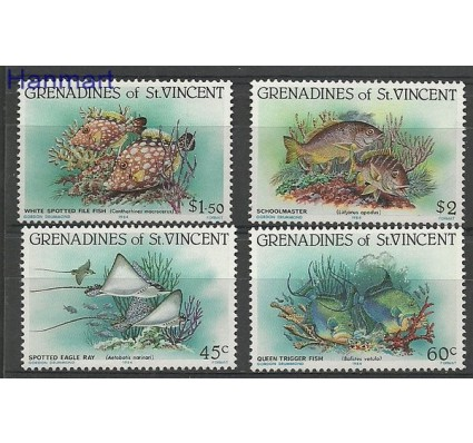 Znaczek Grenadines of St Vincent 1984 Mi 300-303 Czyste **