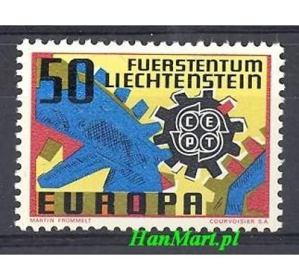 Znaczek Liechtenstein 1967 Mi 474 Czyste **