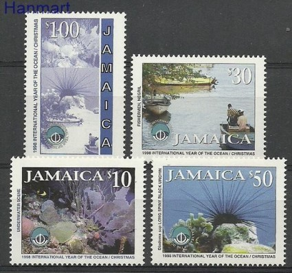 Znaczek Jamajka 1998 Mi 909-912 Czyste **