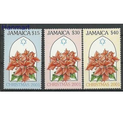 Znaczek Jamajka 2001 Mi 981-983 Czyste **