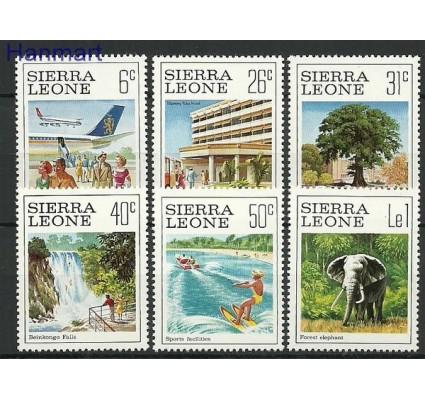 Znaczek Sierra Leone 1980 Mi 618-623 Czyste **