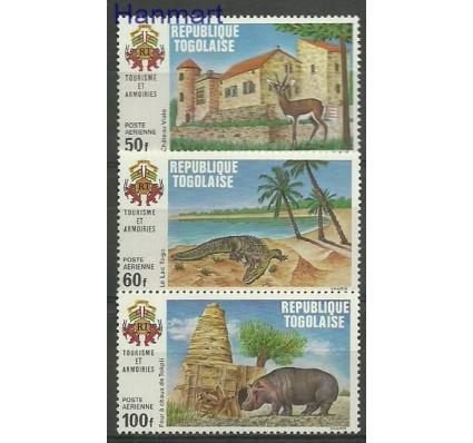 Znaczek Togo 1971 Mi 853-855 Czyste **