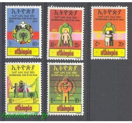 Znaczek Etiopia 1979 Mi 1017-1021 Czyste **