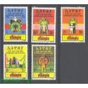 Etiopia 1979 Mi 1017-1021 Czyste **