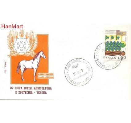 Znaczek Włochy 1973 FDC